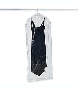 Bolsa para vestidos de vinilo transparente