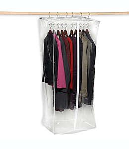 Protector de ropa transparente para clóset, 60.96 cm