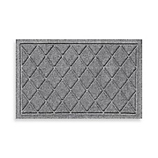 image of Weather Guard™ 18-Inch x 28-Inch Argyle Door Mat