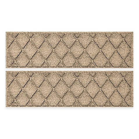 Image Of Weather Guard™ 2 Pack Argyle Stair Tread