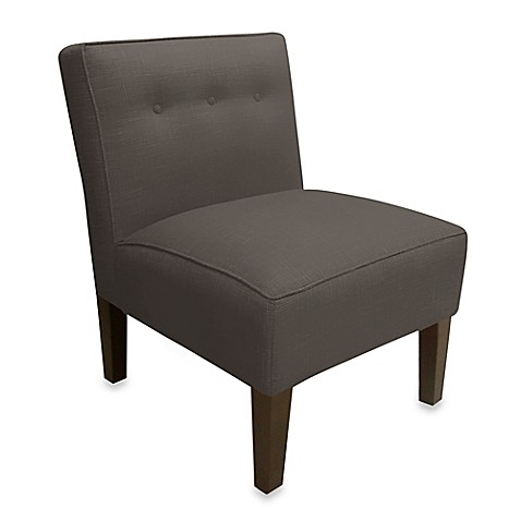 Skyline Furniture Three Button Armless Chair