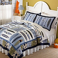 image of Catch a Wave Quilt Set