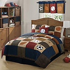 image of Classic Sports Quilt Set
