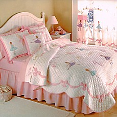 image of Ballet Lessons Quilt Set