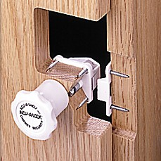 image of Rev-A-Shelf - RAL-101-1 - Rev-A-Lock Cabinet Security System