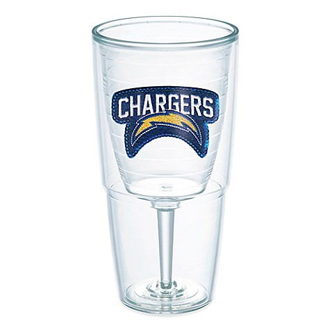 Tervis 174 Nfl San Diego Chargers Sequin 16 Oz Goblet Bed