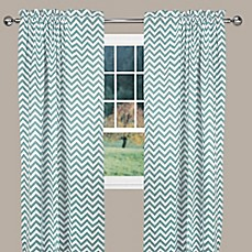 image of Reston Window Curtain Panel and Valance
