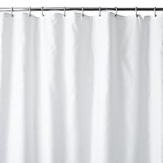 image of Hotel Fabric Shower Curtain Liner