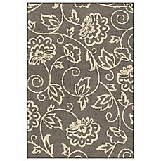 image of Aria Rugs Carolina Fleece Collection Abby Rugs in Grey