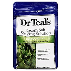 image of Dr. Teal's Therapeutic Solutions 48 oz. Epsom Salt Relax Soaking Solution in Eucalyptus Spearmint