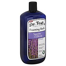 image of Dr. Teal's Therapeutic Solutions 34 oz. Soothe & Sleep Foaming Bath in Lavender