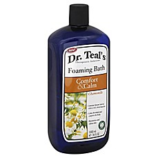image of Dr. Teal's Comfort & Calm 34 oz. Chamomile Foaming Bath
