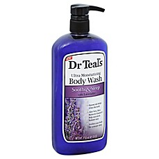 image of Dr. Teal's 24 oz. Soothe & Sleep with Lavender Ultra Moisturizing Body Wash