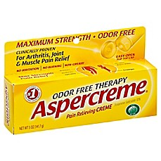 image of Aspercreme® 5 oz. Odor-Free Pain Relieving Cream with Aloe