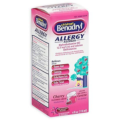 Benadryl Children's 4 ...