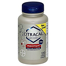 image of Citracal Calcium Citrate + D 120-Count Caplets