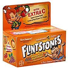 image of Flintstones™ Plus Immunity Support with Extra Vitamin C 60-Count Chewable Tablets