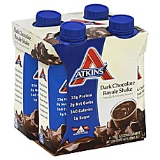 image of Atkins™ Advantage 4-Pack 11 oz. Shakes in Dark Chocolate Royale