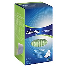 image of Always Infinity 32-Count Super Pads with Wings