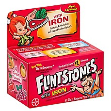 image of Flintstones™ with Iron Multivitamin 60-Count Chewable Tablets