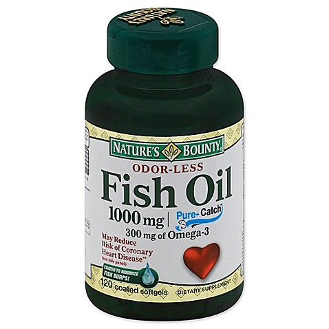 Buy nature 39 s bounty 100 count 1000 mg odorless fish oil for Odorless fish oil