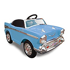 image of Kid Motorz Chevy Bel Air 1-Seater 12-Volt Ride-On in Blue