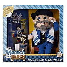 image of Mensch on a Bench Plush Doll and Hardcover Book