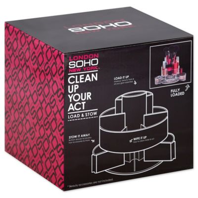 Soho Expandable Swivel Cylinder Vanity Organizer Bed Bath Beyond