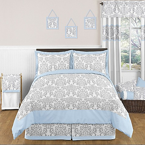 Sweet jojo designs avery bedding collection in blue bed bath