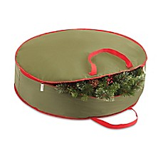 image of Real Simple® 36-Inch Holiday Wreath Storage Bag