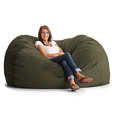 Comfort Research Xl Wide Wale Corduroy Lounge Bean Bag