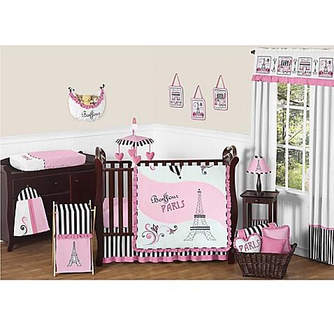 Sweet Jojo Designs Paris Crib Bedding Collection