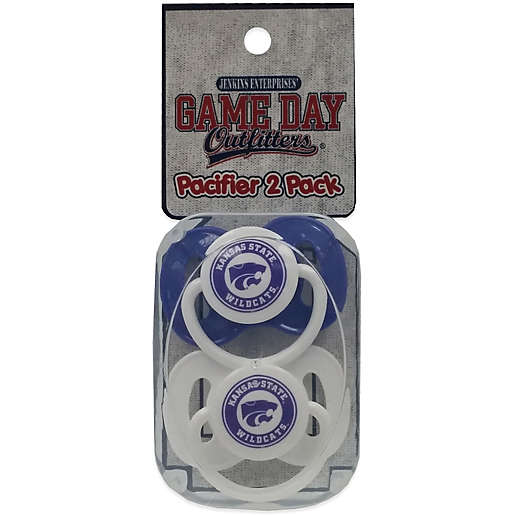 2-Pack Kansas State University Infant Pacifiers