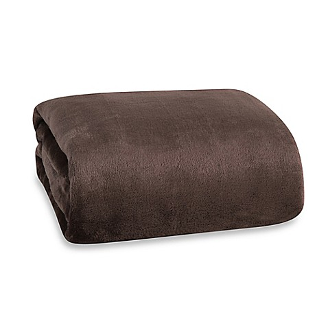 Buy Berkshire Blanket 174 Modern Comfort Throw In Chocolate