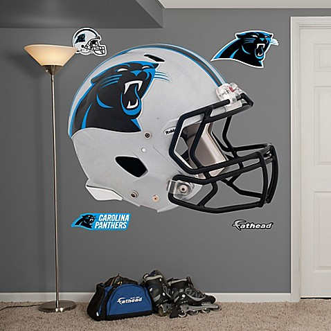 Fathead 174 Nfl Carolina Panthers Revolution Helmet Wall