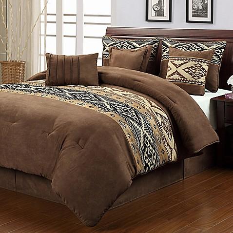 Buy Santa Fe 7 Piece Queen Comforter Set From Bed Bath