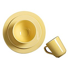 image of Real Simple® Round Dinnerware in Buttercup