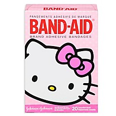 image of Johnson & Johnson® 20-Count Hello Kitty Assorted Bandages