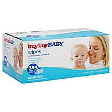 image of buybuy BABY™ 384-Count Sensitive Wipes with Soothing Chamomile