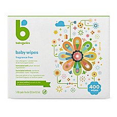 image of Babyganics® Fragrance-Free 400-Count Face, Hand and Baby Wipes
