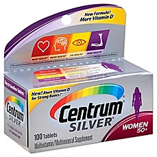 image of Centrum Silver 100-Count Women's Multivitamins