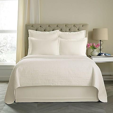 wamsutta® double flange bed skirt - bed bath & beyond
