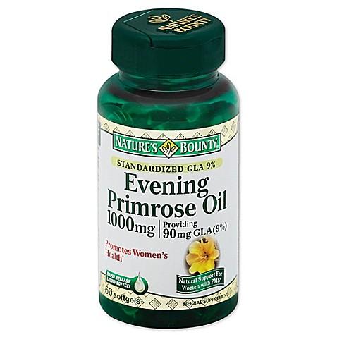 Nature S Bounty Evening Primrose Oil