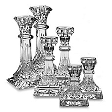 image of Waterford® Lismore Crystal Candlestick Collection