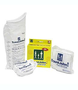 Bolsas urinarias desechables TravelJohn!™, Set de 3