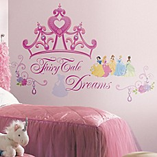 Image Of Disney Princess Crown Peel And Stick Giant Wall Decals