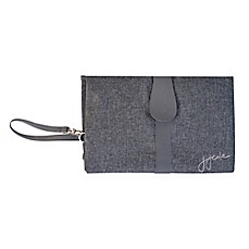 image of JJ Cole Changing Clutch in Grey Heather