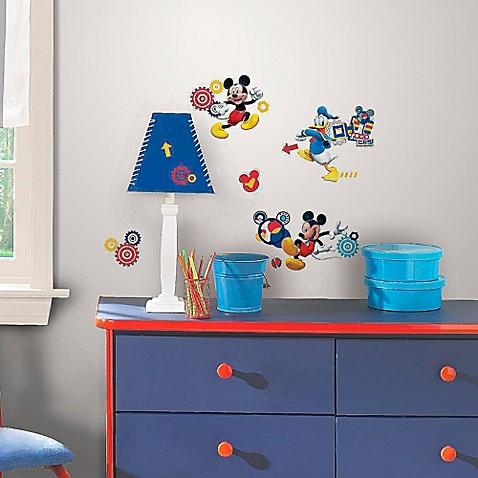 Disneyu0026reg; Mickey Mouse Clubhouse Capers Peel And Stick Wall Decals