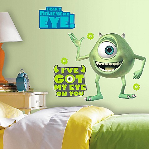 Buy disneyr monsters inc mike wazowski giant peel and for Monsters inc bathroom scene