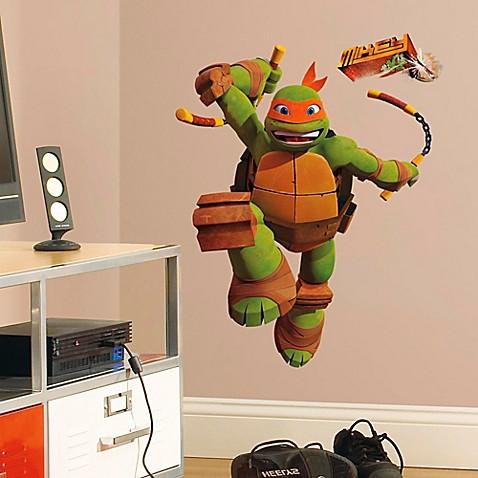 Teenage Mutant Ninja Turtles Mike Giant Peel And Stick
